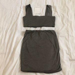 NWT Naked Wardrobe Two Piece Set